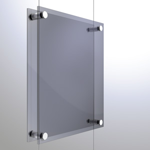 C1538 - 1.5mm Twin Pierced Panel Support Rendering