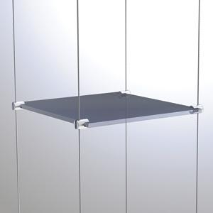 C3021 - 3mm Single Shelf Grip Rendering
