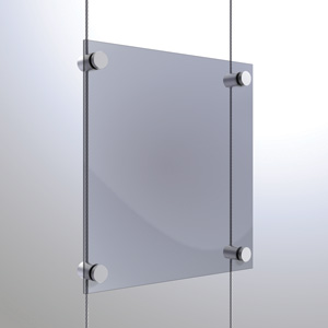 C3037 - 3mm Single Pierced Panel Support Rendering