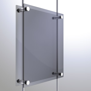 R1038 - 10mm Twin Pierced Panel Support Rendering