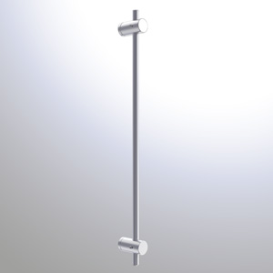 R1072 - 10mm Wall Mounted Rod Holder Rendering