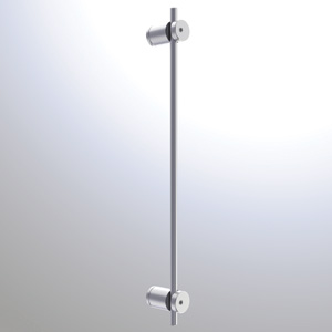R6072 - 6mm Wall Mounted Rod Holder Rendering