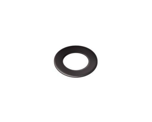W2010 - 30mm Dia. Black Rubber Washer