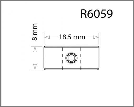 R6059 - 6mm Ceiling Shield Drawing