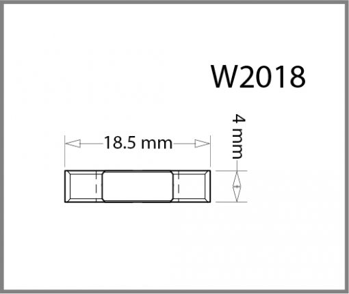 W2018 - 4 – Way Panel Connector Drawing