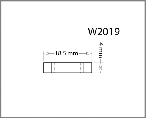 W2019 - 2 – Way Panel Connector Drawing
