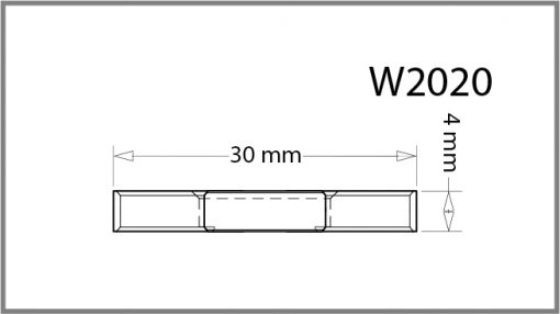 W2020 - 4 – Way Panel Connector Drawing