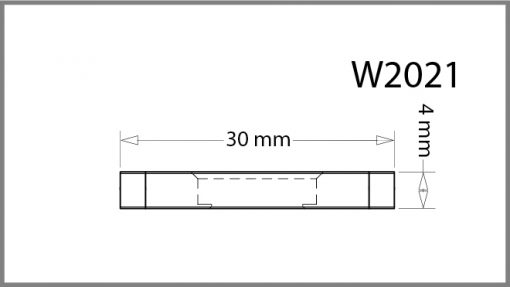 W2021 - 2 – Way Panel Connector Drawing