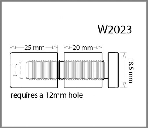 W2023 - Double Panel Support Drawing