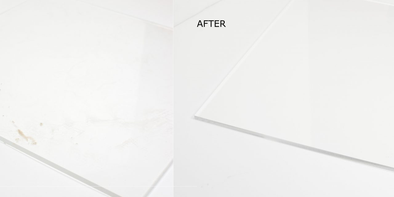 Scratched Or Discoloured Acrylic? These Simple Steps Save You Money!
