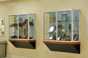 Custom Display Case For Trophies