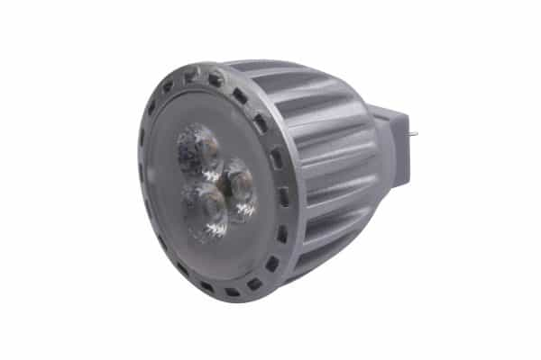 4 Watt Power LED Bulb, 30 Degree Beam Angle, Neutral White - Suitable for Use With Multi-rail Picture Hanging Systems